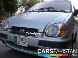 2004, Green Hyundai Santro (Petrol / CNG ) For Sale, Lahore, By: Faisal  (Private Seller)