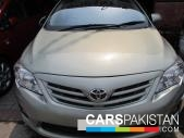 Toyota Altis for sale located in Lahore