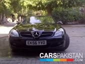 Mercedes Benz SLK for sale located in Lahore