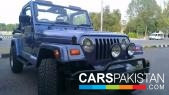 Jeep Wrangler for sale located in Islamabad