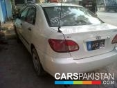 Toyota Corolla for sale located in Islamabad