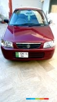 2012, Pearl Red Suzuki Alto (Petrol / CNG ) For Sale, Chakwal, By: sohaib mushtaq  (Private Seller)