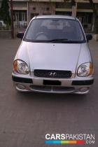 2004, Silver Hyundai Santro (Petrol / CNG ) For Sale, Faisalabad, By: Imran  (Private Seller)
