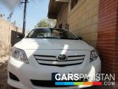 Toyota Corolla for sale located in Hyderabad