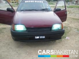 1993, Maroon Daewoo Racer (Petrol / CNG ) For Sale, Islamabad, By: Hamza Malik  (Private Seller)