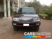 Toyota Land Cruiser for sale located in Islamabad