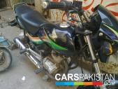 Honda CG 125 Deluxe 2010 for sale Lahore