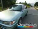 2001, Grey Toyota Corolla XE For Sale, Faisalabad, Registered Number From Taxila