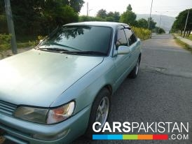 2001, Grey Toyota Corolla (Petrol / CNG ) For Sale, Taxila, By: Umair Khan  (Private Seller)