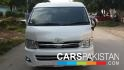 2012, Pearl White Toyota Hiace Hi-Roof For Sale, Unregistered, Registered Number From Islamabad