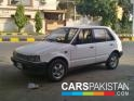 1985, White Daihatsu Charade  For Sale, Peshawar, Registered Number From Lahore