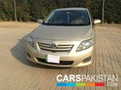 2011 Toyota Corolla For Sale in Lahore