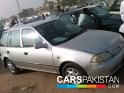 2006, Silver Suzuki Cultus  For Sale, Karachi, Registered Number From Karachi