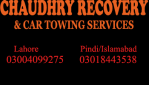 Chaudhry Towing And Recovery Services, Islamabad