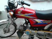 Honda CD 70 2011 for sale Faisalabad