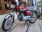 Honda CG 125 2014 for sale Islamabad