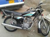 Honda CG 125 2001 for sale Karachi
