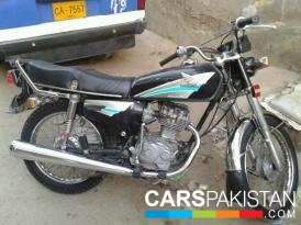 Honda CG 125 2001 For Sale, Karachi, By: Muhammad Rayees  (Private Seller)