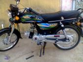 Super Star 70 cc 2014 for sale Karachi