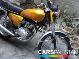 Honda CG 125 2009 For Sale, Lahore, By: zakria  (Private Seller)
