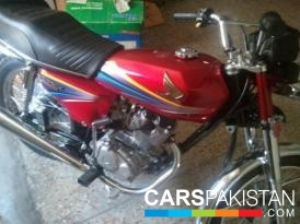 Honda CG 125 2012 For Sale, Lahore, By: Haris  (Private Seller)