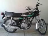Honda CG 125 2013 for sale Lahore