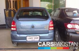 2009, Blue Metallic Suzuki Alto (Petrol / CNG ) For Sale, Bahawalpur, By: Naveed  (Private Seller)