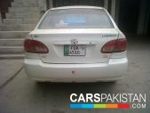 Toyota Corolla for sale located in Faisalabad