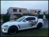 Mazda RX 8 for sale located in Faisalabad