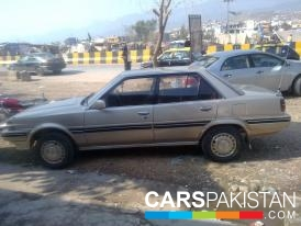1988, Golden Toyota Carina (Diesel ) For Sale, Islamabad, By: Mummad Hassan  (Private Seller)