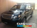 2005, Black Toyota Vigo  For Sale, Rawalpindi, Registered Number From Islamabad