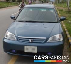 2004, Black Metallic Honda Civic (Petrol / CNG ) For Sale, Islamabad, By: Muhammad Jahanzaib  (Dealer)