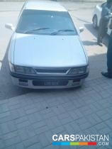 1990, Silver Mitsubishi Lancer (Petrol / CNG ) For Sale, Islamabad, By: Zeeshan  (Dealer)