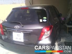 2012, Grey Metallic Toyota Vitz (Petrol ) For Sale, Islamabad, By: faisal  (Private Seller)