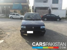 2013, Blue Metallic Suzuki Mehran (Petrol ) For Sale, Islamabad, By: Amir  (Private Seller)