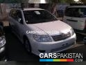 2006, Pearl White Toyota Fielder  For Sale, Unregistered, Registered Number From Karachi