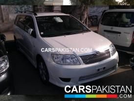 2006, Pearl White Toyota Fielder (Petrol ) For Sale, Karachi, By: Liberty Auto  (Private Seller)