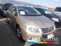 2007, Beige Toyota Axio  For Sale, Unregistered, Registered Number From Karachi