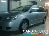 Toyota Fielder for sale located in Karachi