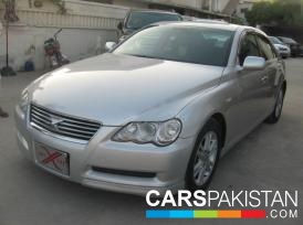 2005, Silver Metallic Grey Toyota Mark X (Petrol ) For Sale, Karachi, By: Humayun Saleem Samana  (Dealer)