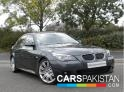 2008, Silver Metallic Grey BMW 5 Series  For Sale, Unregistered, Registered Number From Karachi