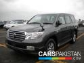 2008, Grey Toyota Land Cruiser  For Sale, Karachi, Registered Number From Karachi