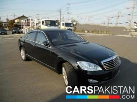 2006, Black Mercedes Benz S Class (Petrol ) For Sale, Karachi, By: Lala Munawar  (Dealer)