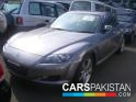 2005, Grey Metallic Mazda RX 8  For Sale, Karachi, Registered Number From Karachi