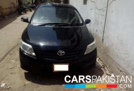 2010, Black Toyota Corolla (Petrol / CNG ) For Sale, Karachi, By: shehzad  (Private Seller)