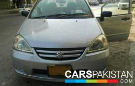 2006, Silver Suzuki Liana (Petrol / CNG ) For Sale, Karachi, By: M. Danish  (Private Seller)