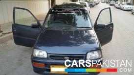 2006, Blue Daihatsu Cuore (Petrol / CNG ) For Sale, Karachi, By: afzal  (Dealer)