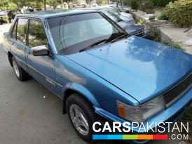 1986, Blue Toyota Corolla (Petrol / CNG ) For Sale, Karachi, By: Asim  (Private Seller)