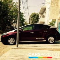 2014, Pearl Red Toyota Prius (Petrol ) For Sale, Karachi, By: abdul hafeez  (Private Seller)