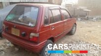 1998 Suzuki Mehran For Sale in Karachi